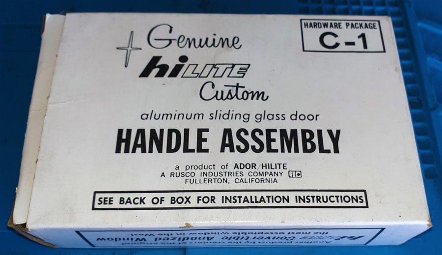 Ador Genuine C1 Hi-Lite Lock in a box