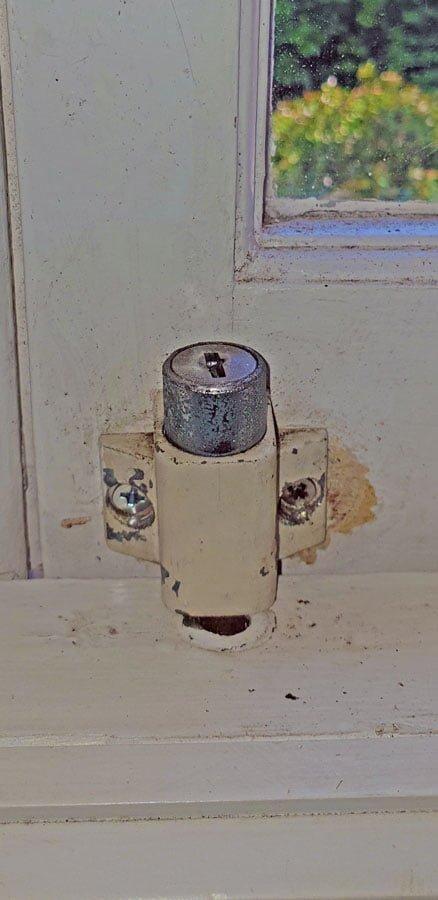 Example of window locks