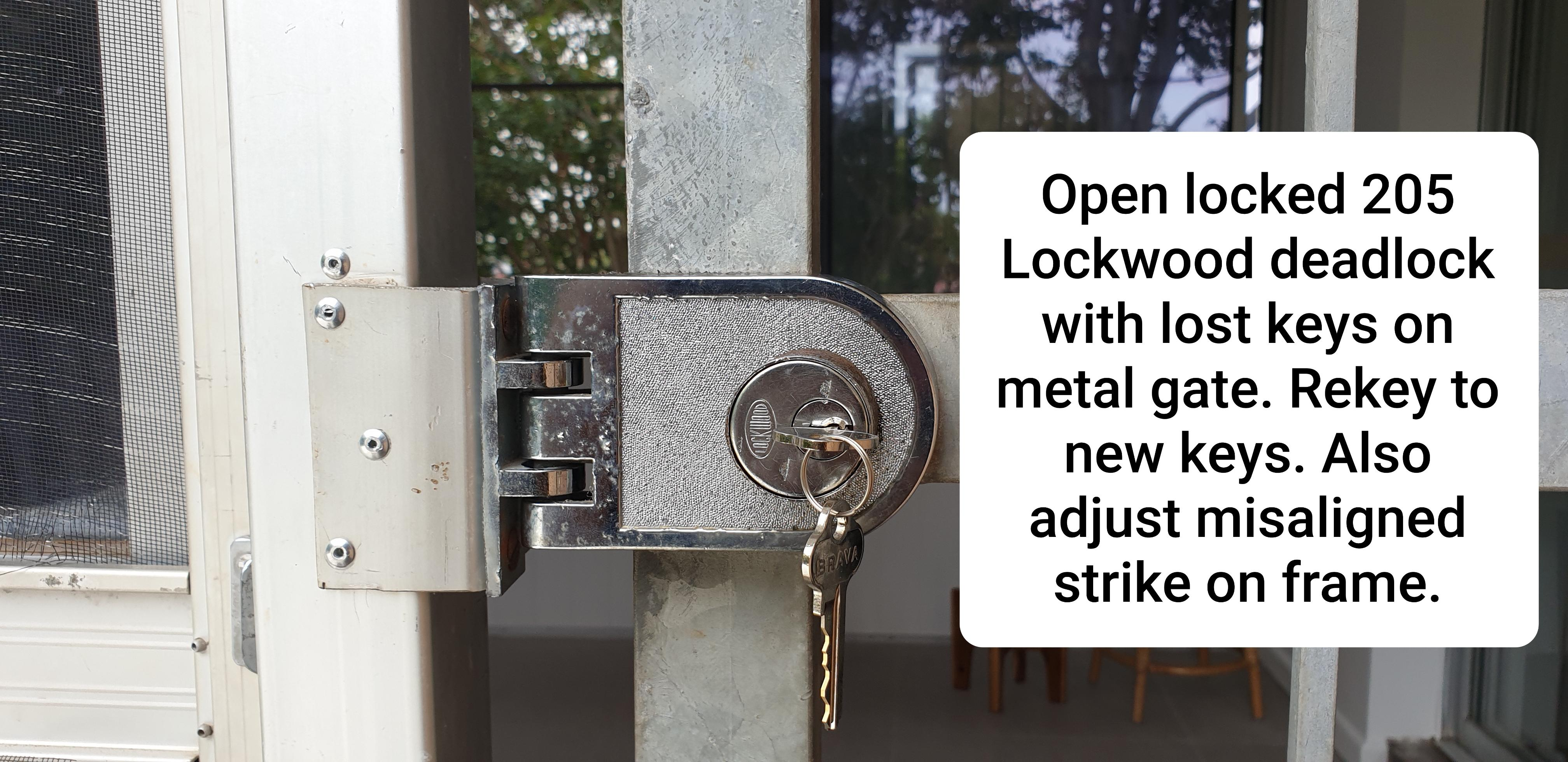 Lockwood 205 deadlock