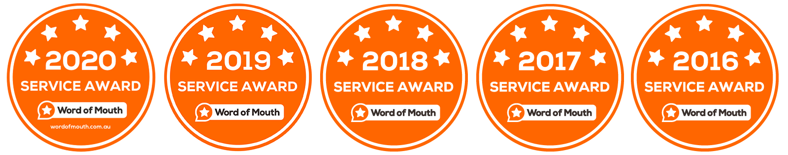 Word of Mouth Locksmith Service Award